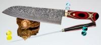 Кухонный нож Mr. Itou (Hiroo Itou) R2 Santoku 185mm (уценка) - Интернет магазин Японских кухонных туристических ножей Vip Horeca
