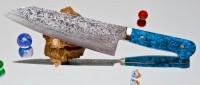 Кухонный нож Mr. Itou (Hiroo Itou) R2 Santoku 180mm - Интернет магазин Японских кухонных туристических ножей Vip Horeca