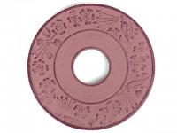 Чугунная подставка IWACHU под чайник 13,5см. (круг, коричневый) - Интернет магазин Японских кухонных туристических ножей Vip Horeca