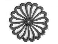 Чугунная подставка IWACHU под горячее 21см. (цветок, черный) - Интернет магазин Японских кухонных туристических ножей Vip Horeca