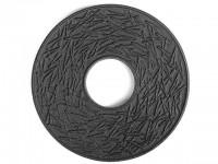 Чугунная подставка IWACHU под чайник 14,5см. (круг, сосновая игла, черный) - Интернет магазин Японских кухонных туристических ножей Vip Horeca