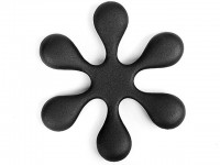 Чугунная подставка IWACHU под чайник 15см. (цветок, черный) - Интернет магазин Японских кухонных туристических ножей Vip Horeca