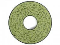 Чугунная подставка IWACHU под чайник 14,5см. (круг, сосновая игла, зеленый) - Интернет магазин Японских кухонных туристических ножей Vip Horeca