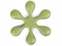 Чугунная подставка IWACHU под чайник 18,5см. (цветок, зеленый) - Интернет магазин Японских кухонных туристических ножей Vip Horeca