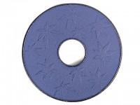 Чугунная подставка IWACHU под чайник 14см. (круг, кленовый лист, синий) - Интернет магазин Японских кухонных туристических ножей Vip Horeca