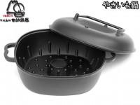Чугунная форма для кекса IWACHU, 24,5см (c крышкой) - Интернет магазин Японских кухонных туристических ножей Vip Horeca