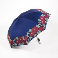Зонт Maehara, серия Button-TU, Flowers/Blue - Интернет магазин Японских кухонных туристических ножей Vip Horeca