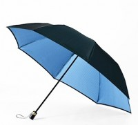 Зонт Maehara, серия SLASH-TU, Black / Blue - Интернет магазин Японских кухонных туристических ножей Vip Horeca