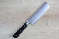 Кухонный нож JCK Natures Deep Impact Series Nakiri  165mm - Интернет магазин Японских кухонных туристических ножей Vip Horeca