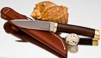 HATTORI KD30-3718 Utility Knife (drop point) - Интернет магазин Японских кухонных туристических ножей Vip Horeca