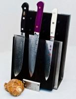 Деревянный магнитный держатель (черный) - Интернет магазин Японских кухонных туристических ножей Vip Horeca