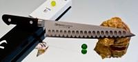 Кухонный нож Misono Molibden Steel с проточкой Gyuto 270mm - Интернет магазин Японских кухонных туристических ножей Vip Horeca
