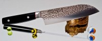 Кухонный нож Kanetsugu Pro-J Santoku 170mm - Интернет магазин Японских кухонных туристических ножей Vip Horeca