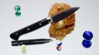 Кухонный нож RYUSEN Blazen Paring 75mm - Интернет магазин Японских кухонных туристических ножей Vip Horeca