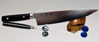 Кухонный нож Kanetsugu Saiun Gyuto 200mm - Интернет магазин Японских кухонных туристических ножей Vip Horeca