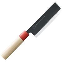 Кухонный нож Shimomura, Kenmizaki Satomi, Nakiri 135mm - Интернет магазин Японских кухонных туристических ножей Vip Horeca