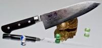 Кухонный нож Hiro Shiki Santoku 180mm - Интернет магазин Японских кухонных туристических ножей Vip Horeca