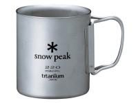 Кружка Snow Peak 220ml (двойная стенка) - Интернет магазин Японских кухонных туристических ножей Vip Horeca