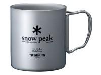 Кружка Snow Peak 450ml (двойная стенка) - Интернет магазин Японских кухонных туристических ножей Vip Horeca