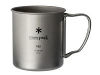 Кружка Snow Peak 450ml (одностенная) - Интернет магазин Японских кухонных туристических ножей Vip Horeca