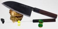 Кухонный нож HOCHO NAS Takeda Banno Funayuki-Bocho (Santoku) 170mm - Интернет магазин Японских кухонных туристических ножей Vip Horeca